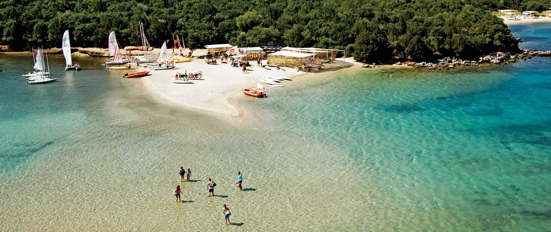 Sivota summer resort is a popular touristic destination and is known for the outstanding quality of its beaches with the crystal clear Ionian waters