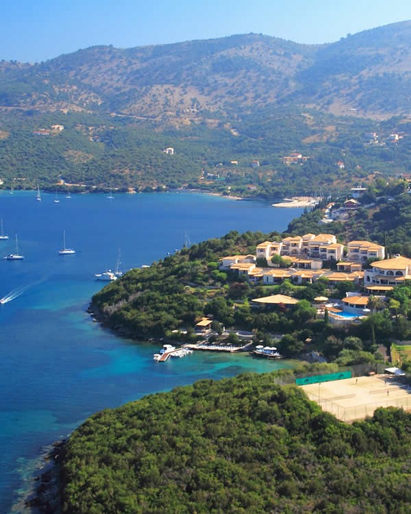 Syvota summer resort, with a population of about 900 people, lies in Thesprotia, Epirus, Greece, at only a half-hour drive from Igoumenitsa